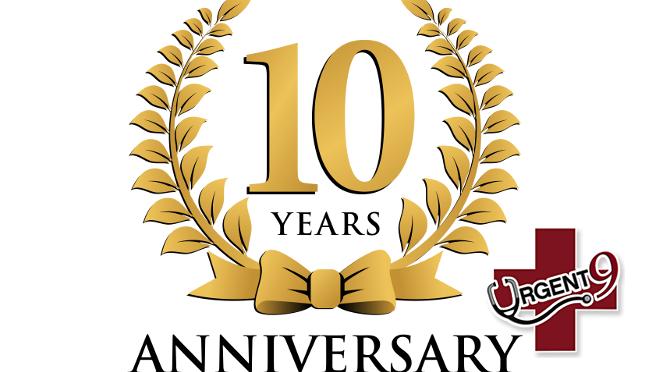 urgent 9 ten year anniversary